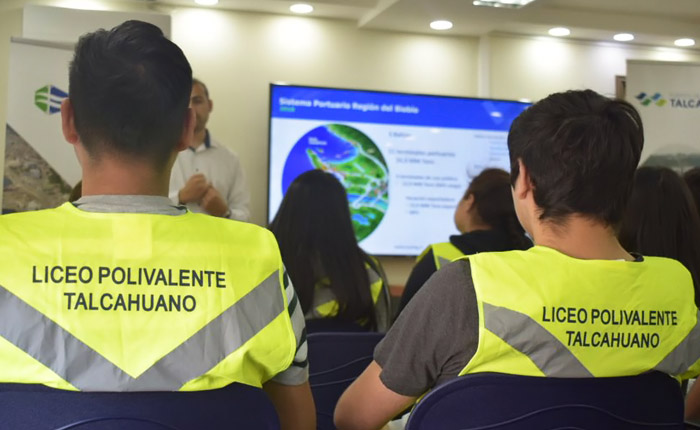 Capacitación Liceo Polivalente Talcahuano